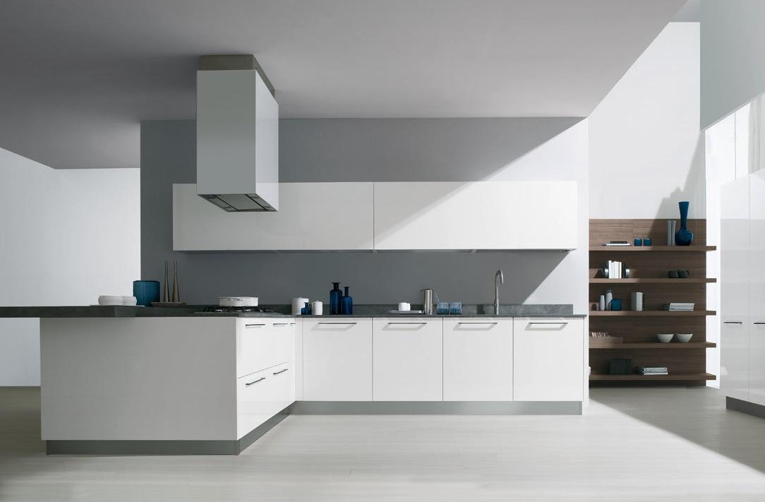 Дизайн светлой кухни от GeD CUCINE