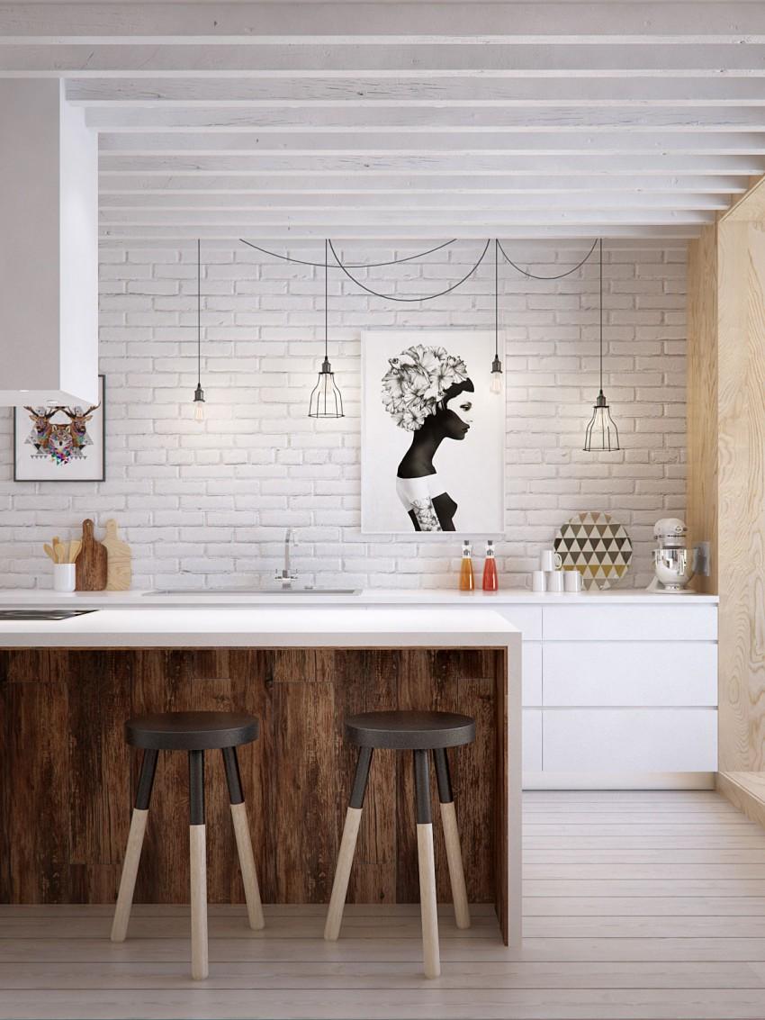 Оригинальный дизайн стульев для кухни - Фото 17