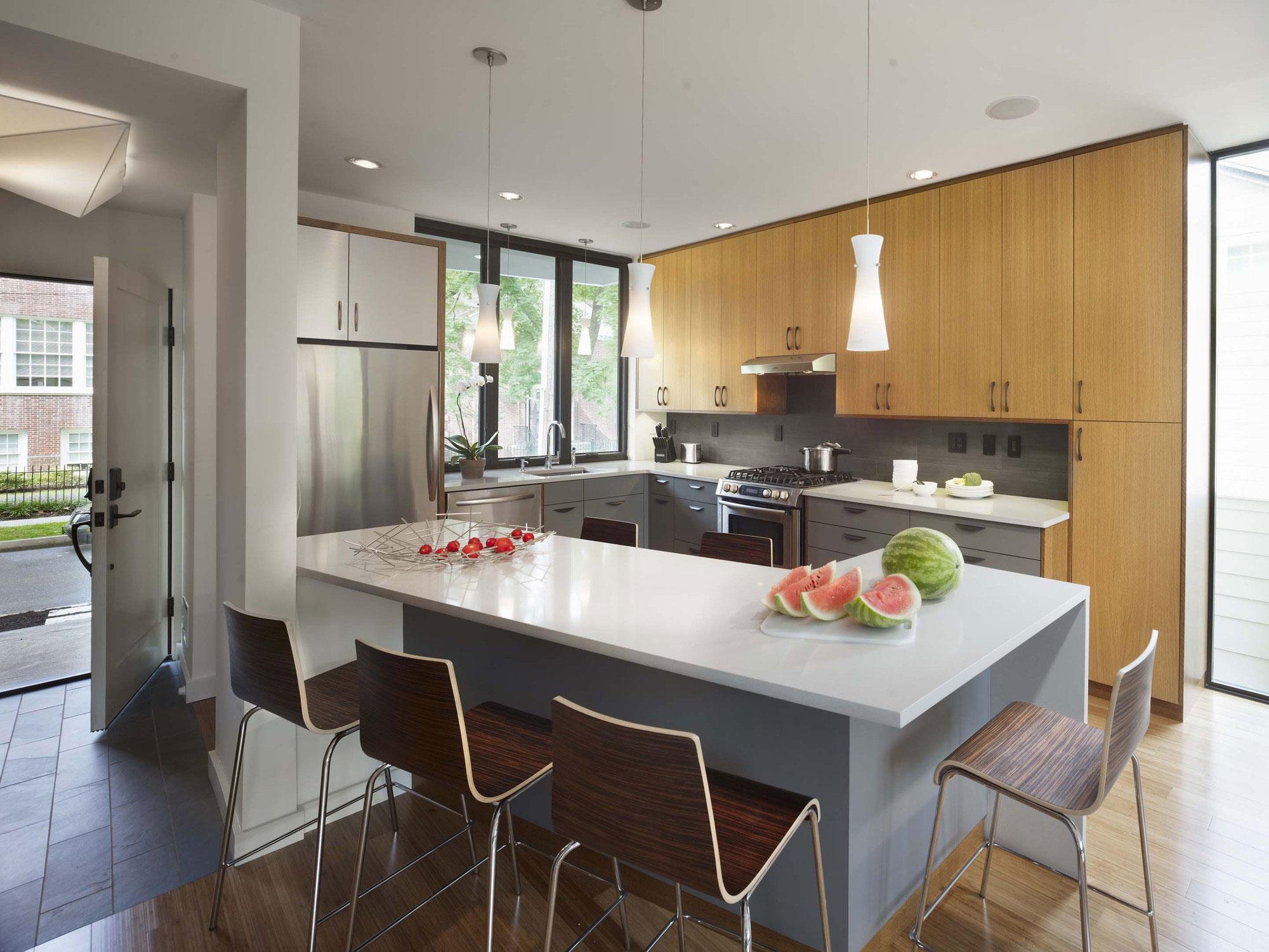 Оригинальный дизайн стульев для кухни - Фото 22