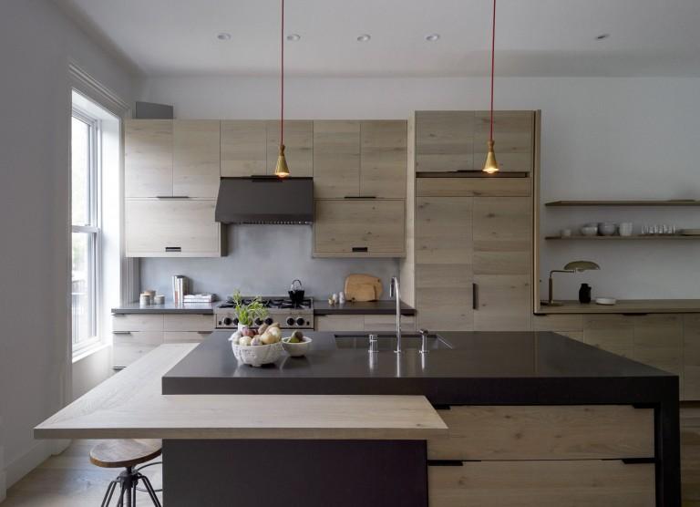 Современное дизайнерское решение кухни