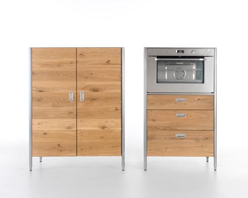 Дверки для кухонных шкафов из древесины дуба