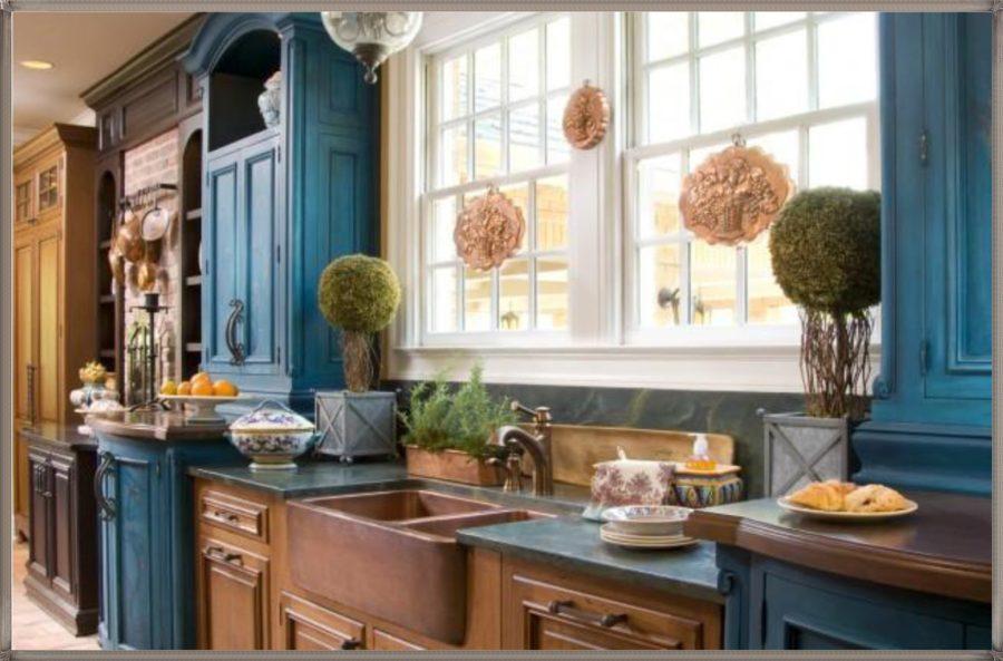 Двухцветные кухонные гарнитуры - Фото 5
