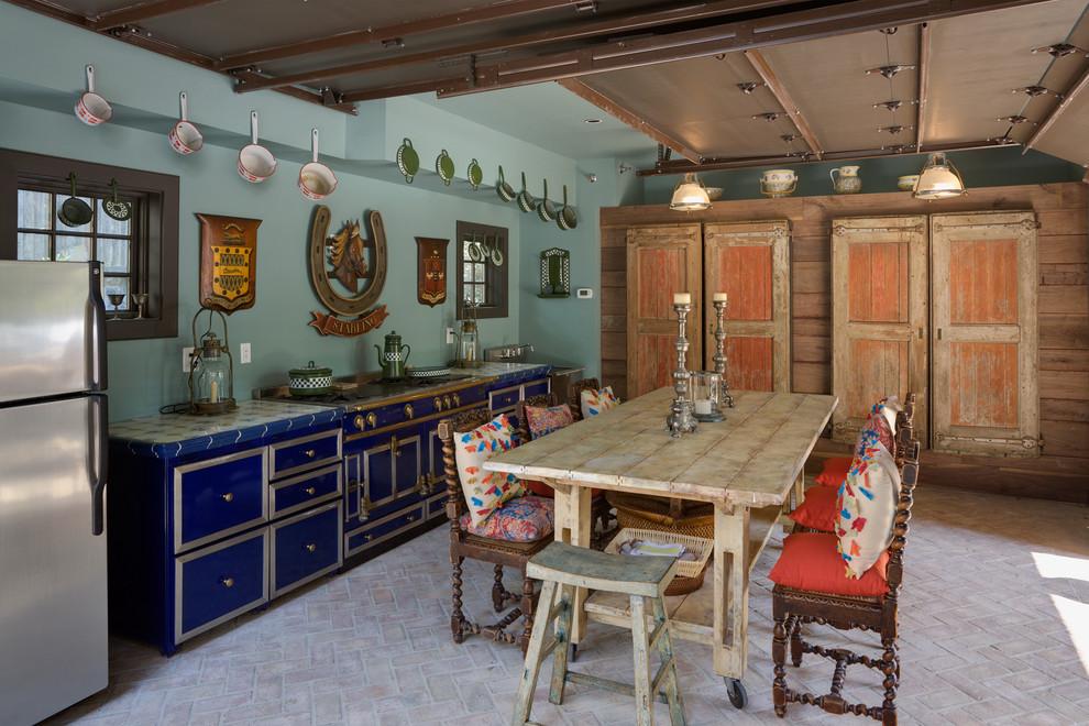 вопросу миниатюре кухни в стиле эклектика фото лишь