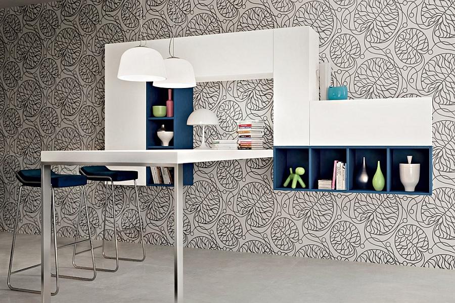 Элегантный экодизайн кухни Arts & Crafts от Pedini в минималистском стиле