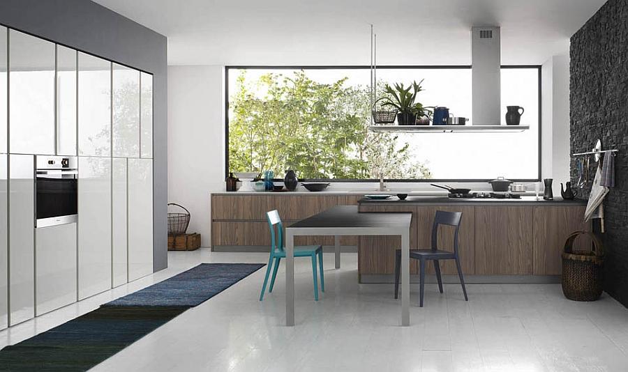 Современный дизайн минималистской кухни Logica от Valcucine