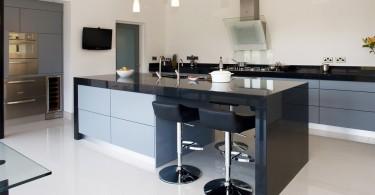 Дизайн кухонной столешницы Corian от Glenvale Kitchens