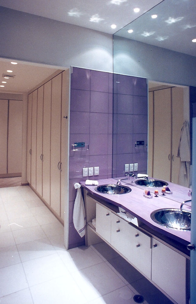 Bathroom and dressing room design