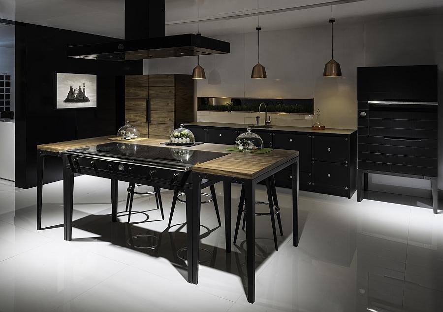 Стильный дизайн кухни в стиле современная классика