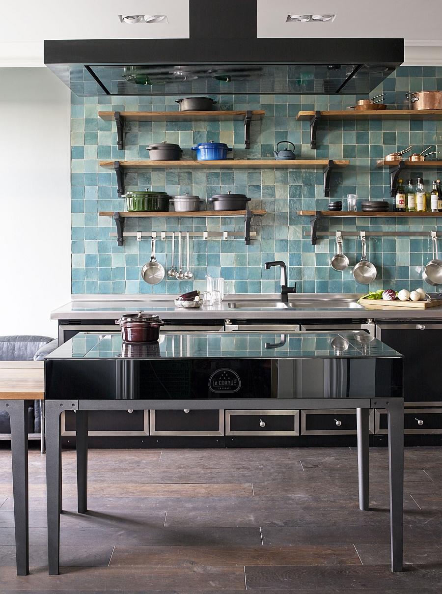 Стильный дизайн индукционной плиты La Cornue W