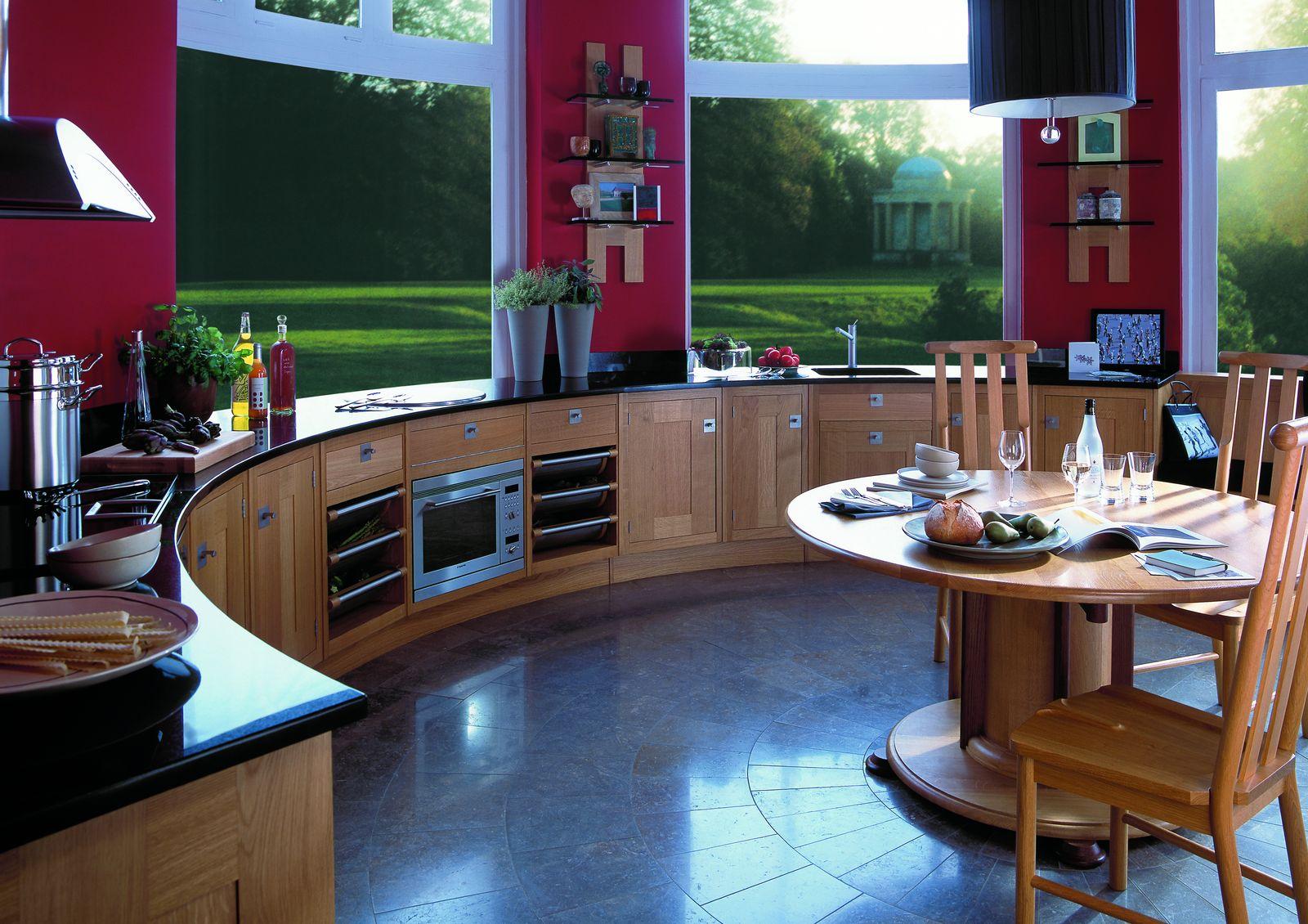Креативный дизайн кухни фото