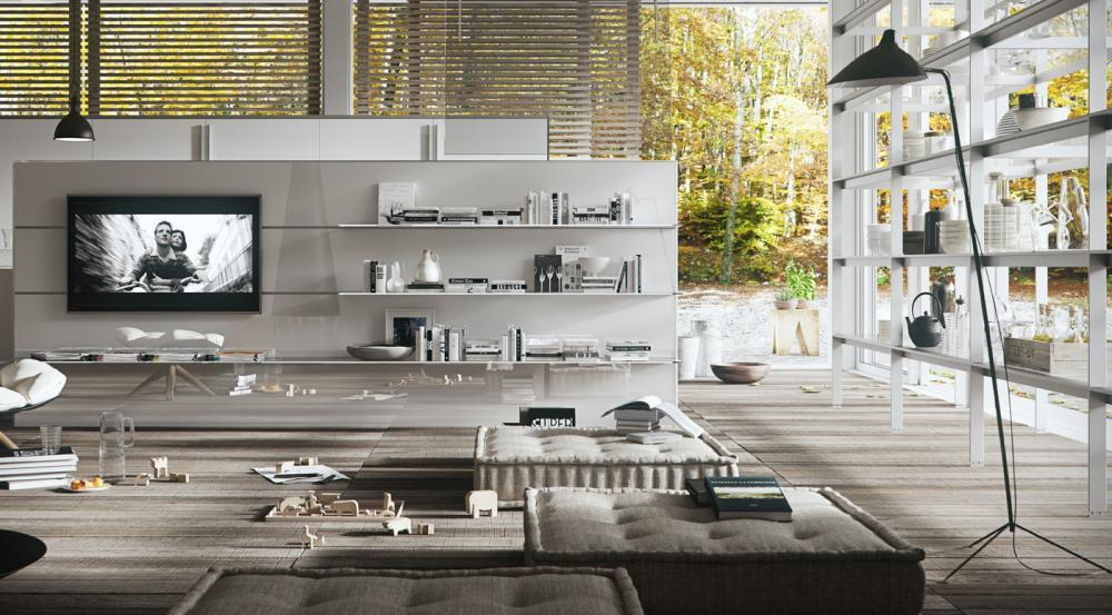 Функциональная мебель для кухни в белом цвете - Фото 2