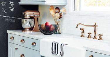 Фурнитура для кухонных шкафов в белом цвете