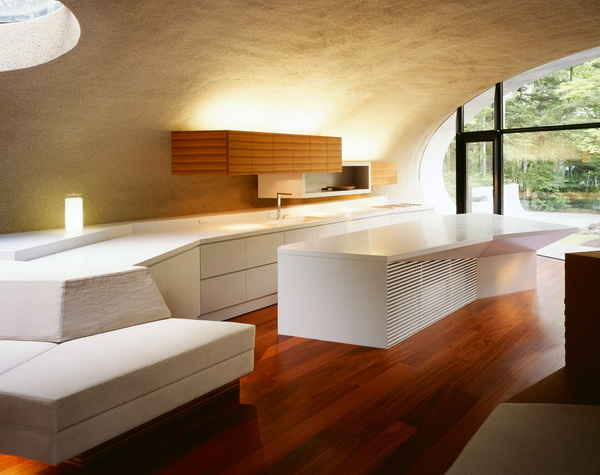 Необычный дизайн интерьера кухни
