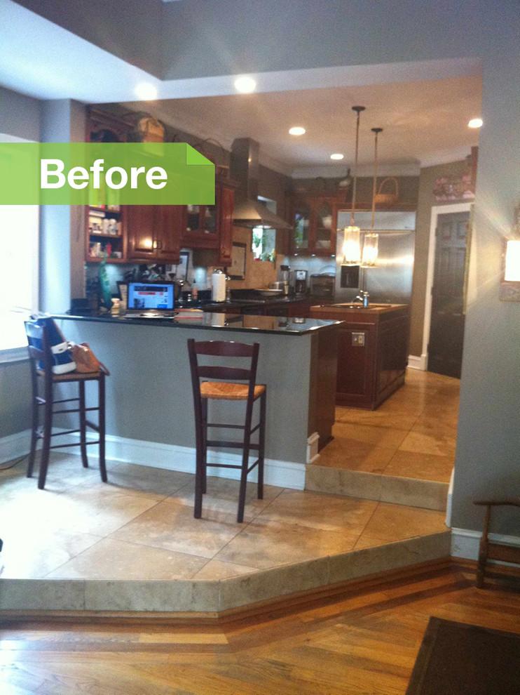 Интерьер кухни до реконструкции