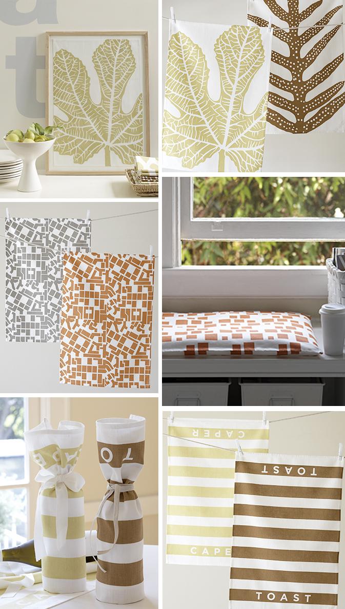 Кухня текстиль: нарядные полотенца от Studio Patro