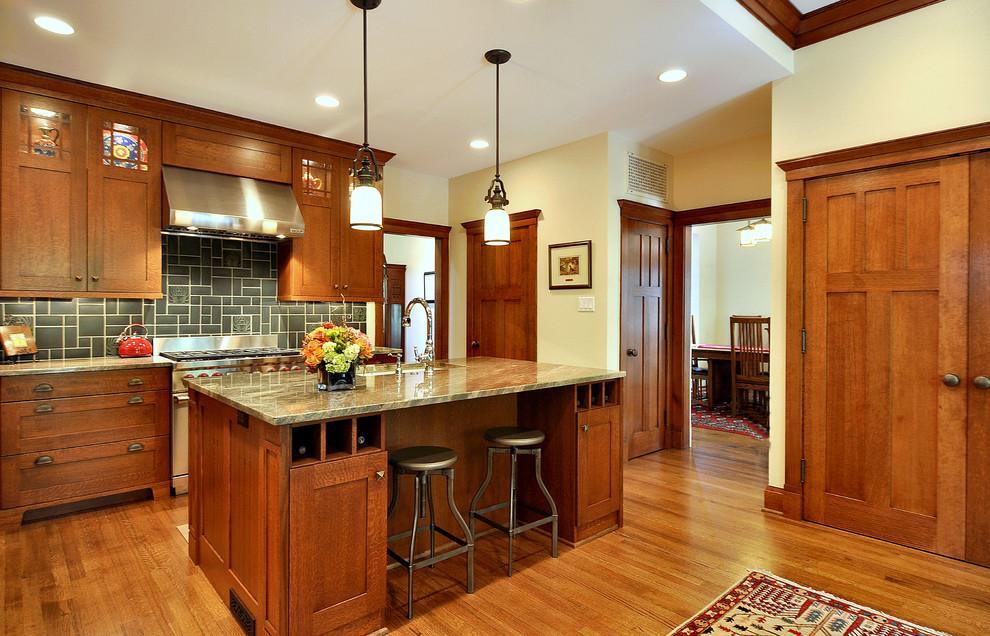 Интерьер кухни в ремесленном стиле