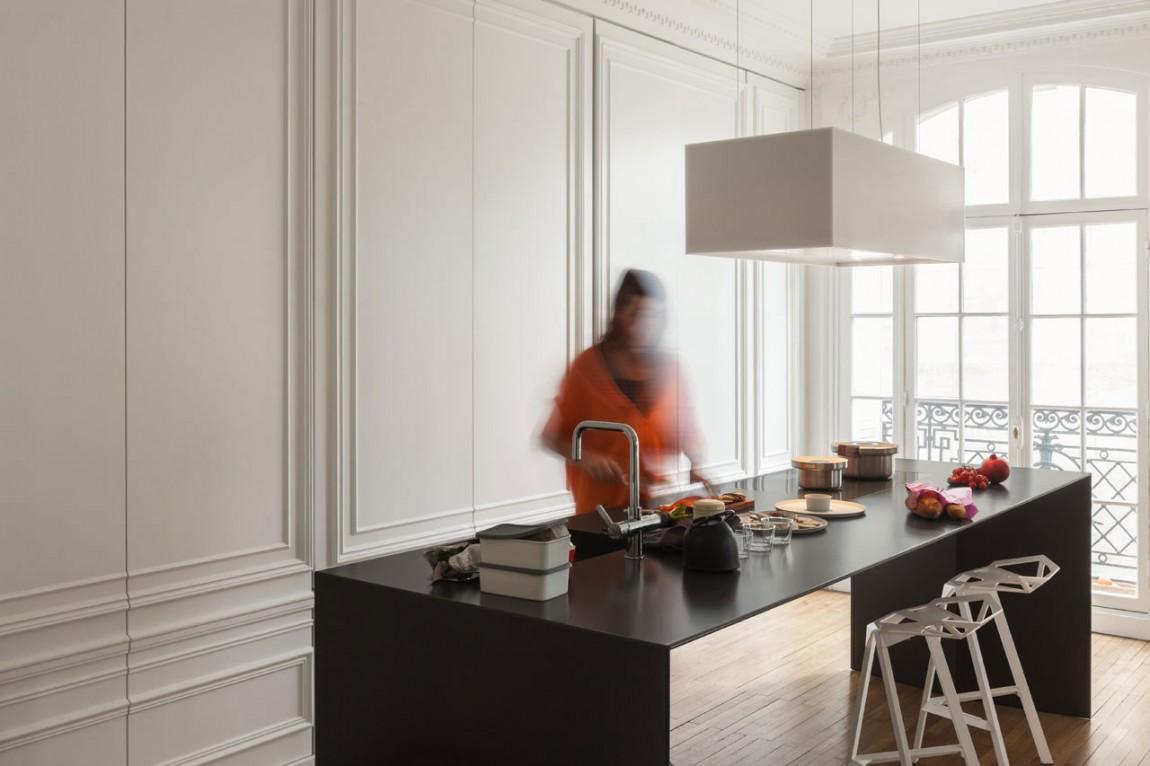 Оригинальная кухня  от студии i29 interior architects