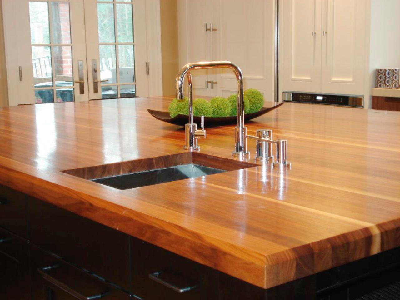 Столешница для кухонного стола из дерева