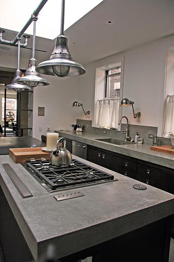 Стильный светодизайн в интерьере кухни