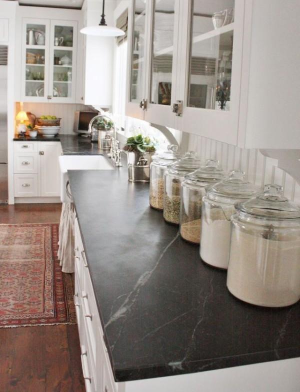 Деревянная многоярусная подставка для хранения посуды и столовых приборов