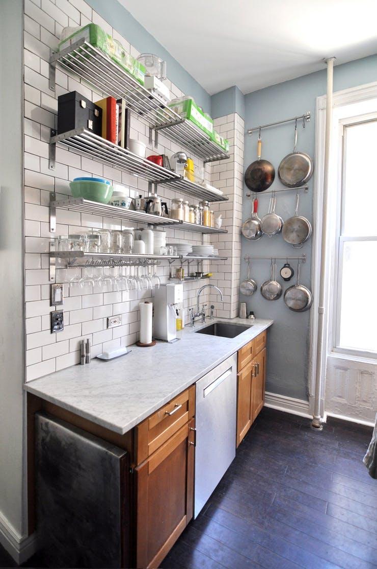хранение на маленькой кухне 7 потрясающих идей