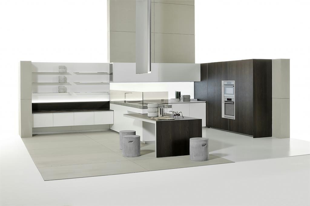Минималистский дизайн интерьера кухни от Giuseppe Bavuso