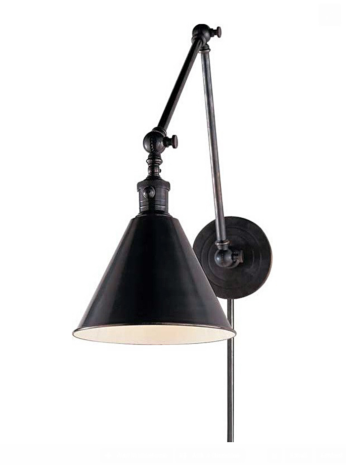 Светильник Boston Functional Library Two-Arm Wall Light от Circa Lighting