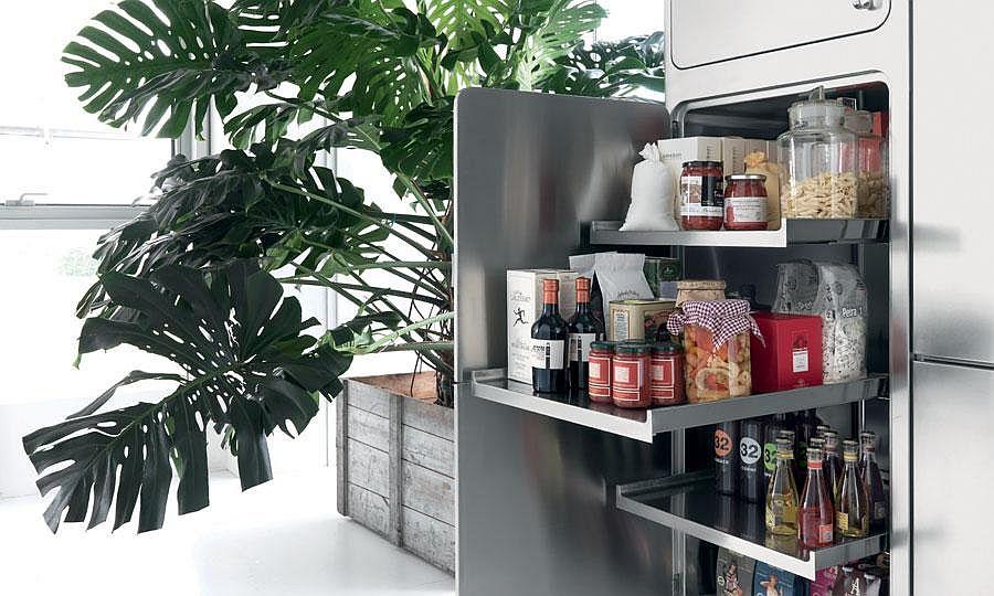 Выдвижные полки в дизайне кухонного гарнитура - Фото 1