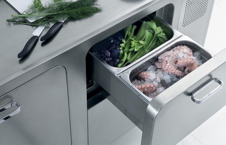 Выдвижные полки в дизайне кухонного гарнитура - Фото 2