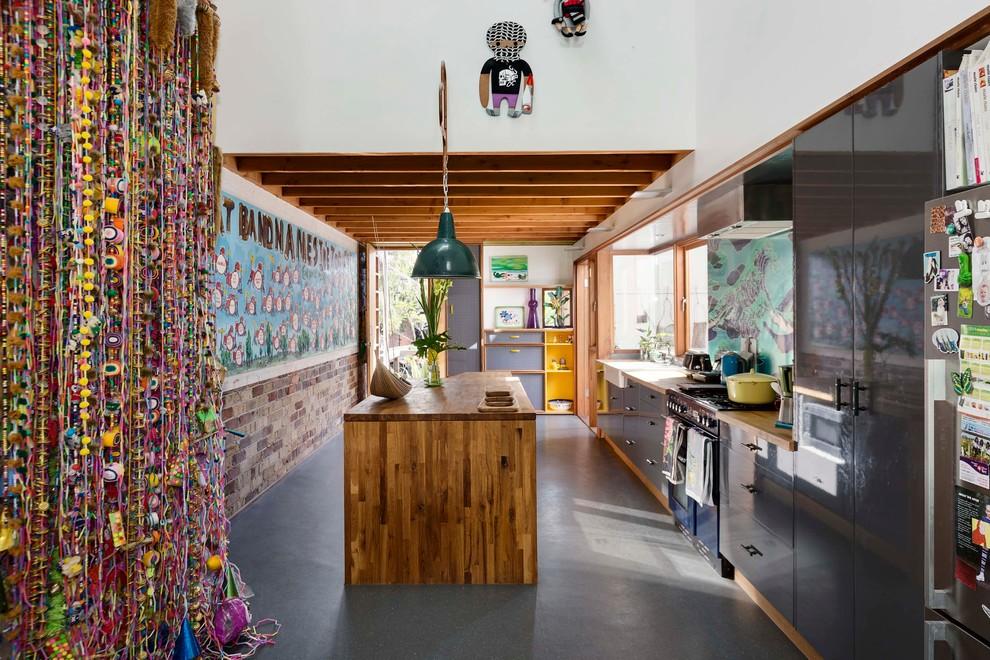 Идеи дизайна кухни - оригинальное декорирование стен
