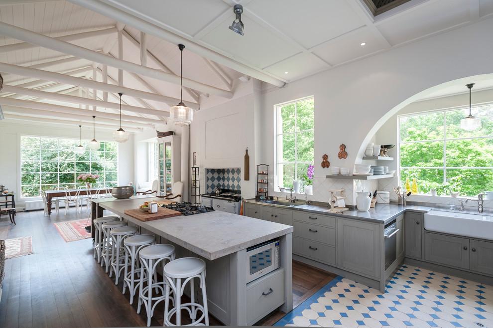 Идеи дизайна кухни - интерьер в стиле рустик