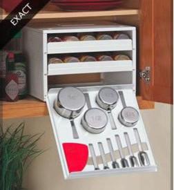 Подставка для хранения специй и мерных ложечек