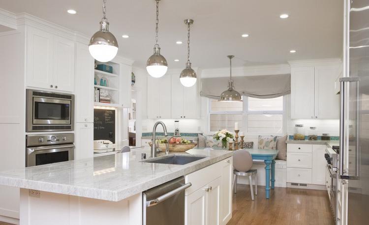 Современные идеи освещения кухни