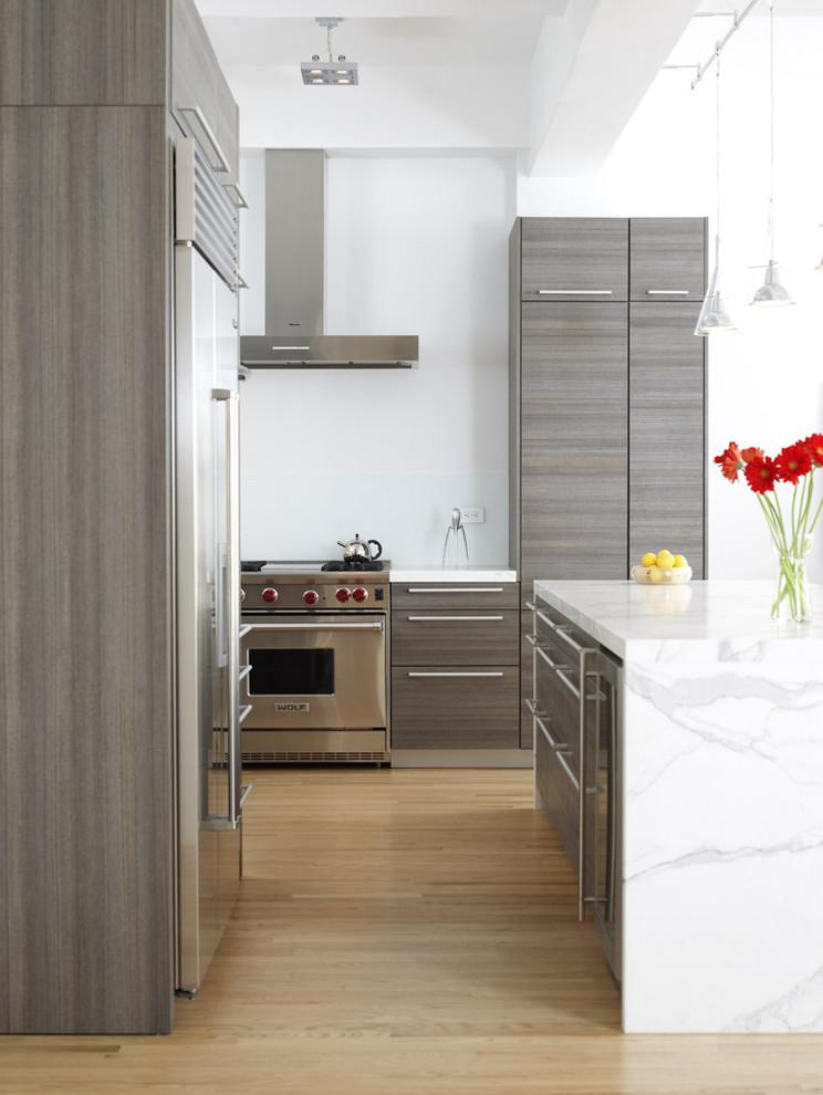 Интерьер кухни из природных материалов
