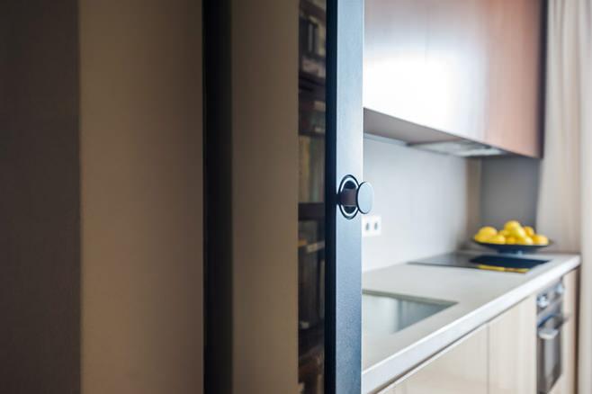 Детали интерьера: раздвижные двери