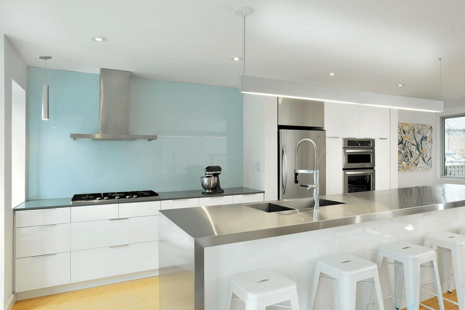 Идеи дизайна фартука на кухню: решение всегда есть