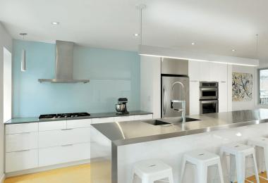 Бюджетные идеи дизайна фартука на кухню
