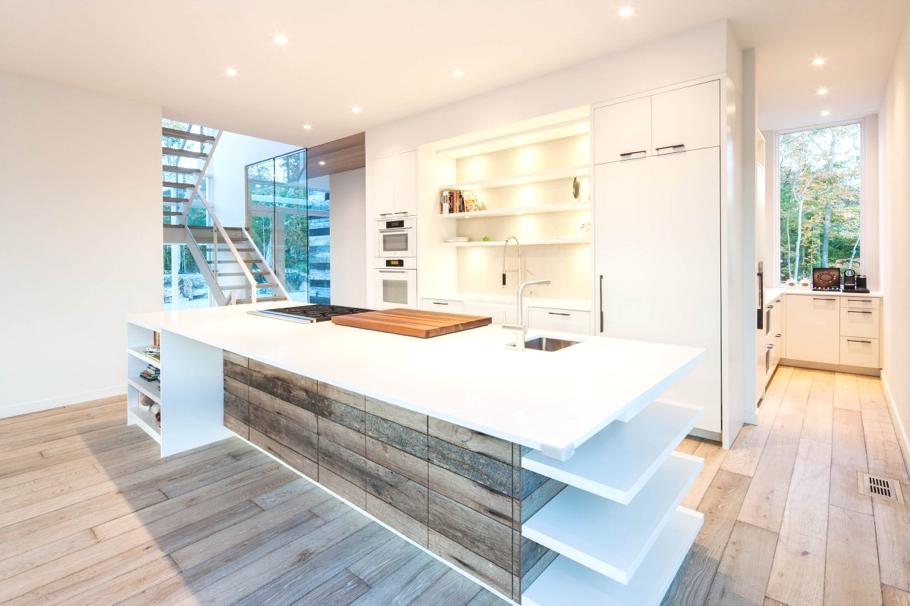 Роскошный интерьер белой кухни - Фото 16
