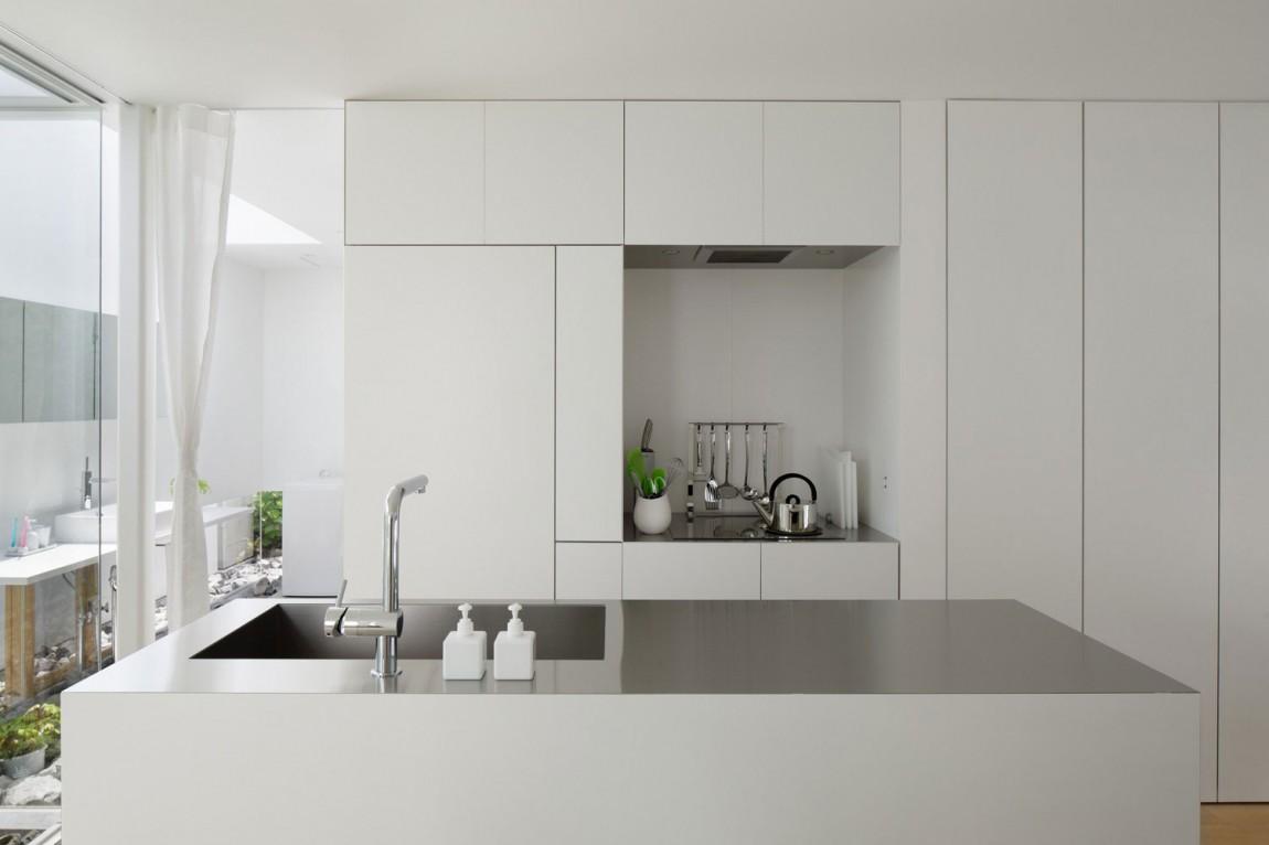 Роскошный интерьер белой кухни - Фото 18