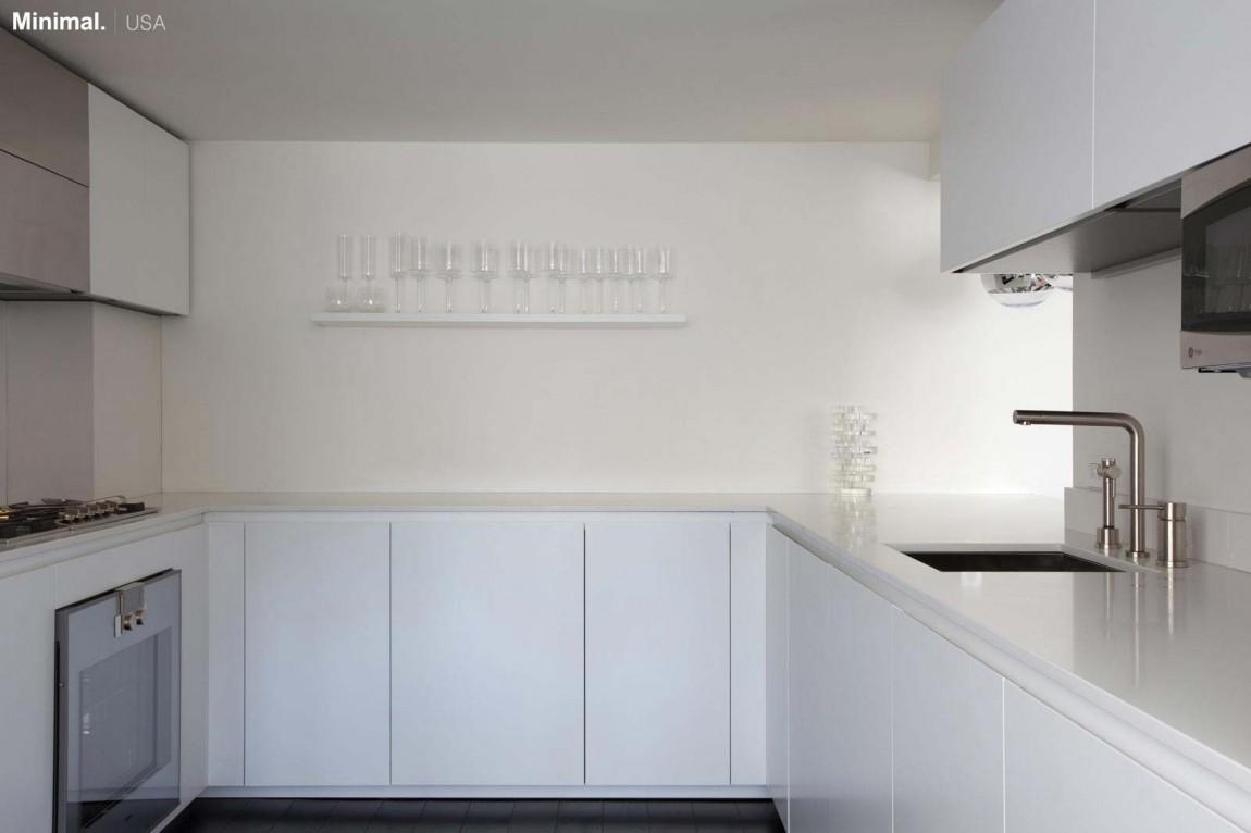 Роскошный интерьер белой кухни - Фото 41