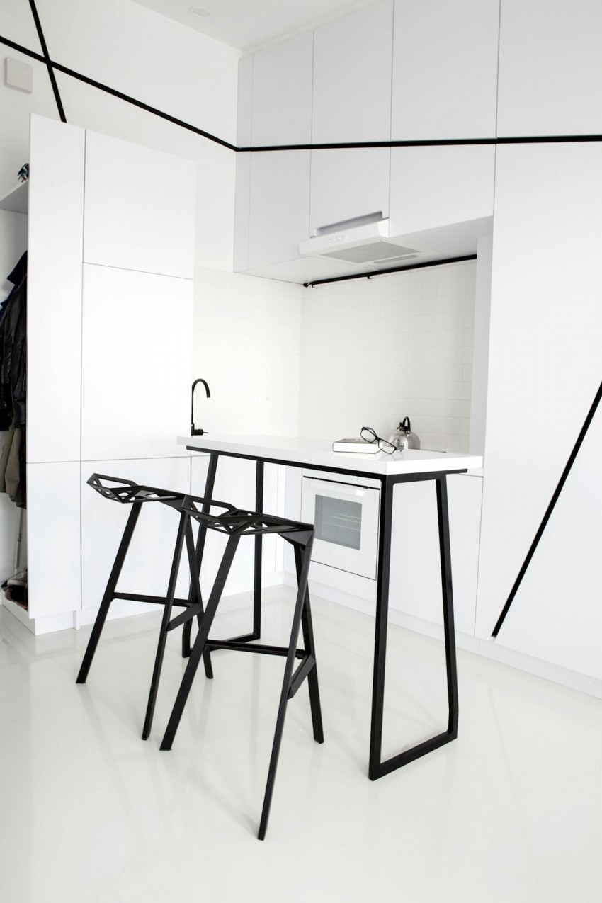 Роскошный интерьер белой кухни - Фото 47