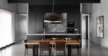 Интерьер красивой кухни в современном стиле