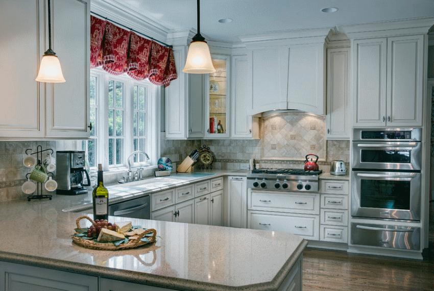 Очаровательный дизайн интерьера кухни в стиле прованс
