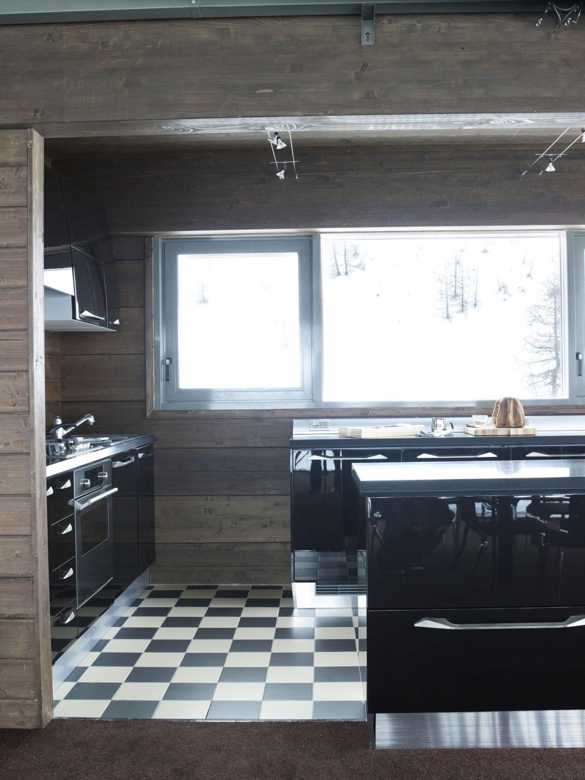 Роскошный интерьер кухни в загородном доме - Фото 11