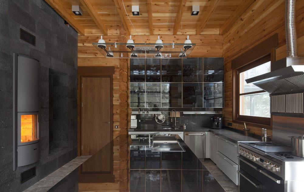 Роскошный интерьер кухни в загородном доме - Фото 13