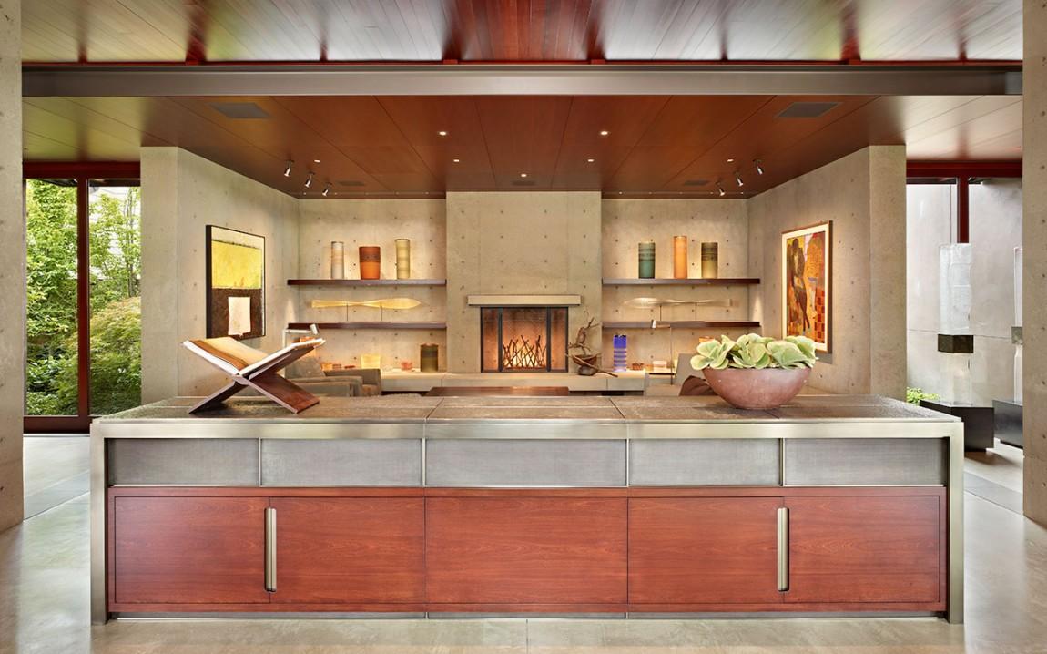 Роскошный интерьер кухни в загородном доме - Фото 29