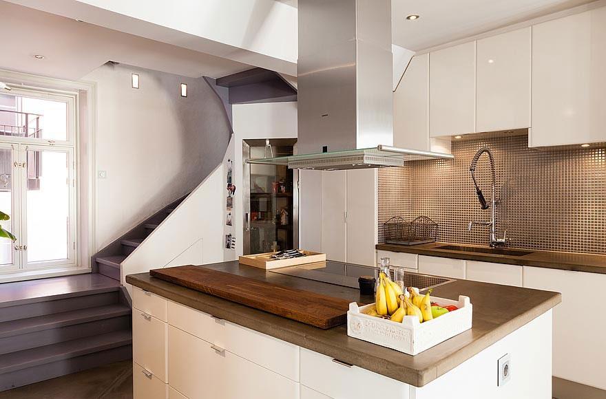 Роскошный интерьер кухни в загородном доме - Фото 32