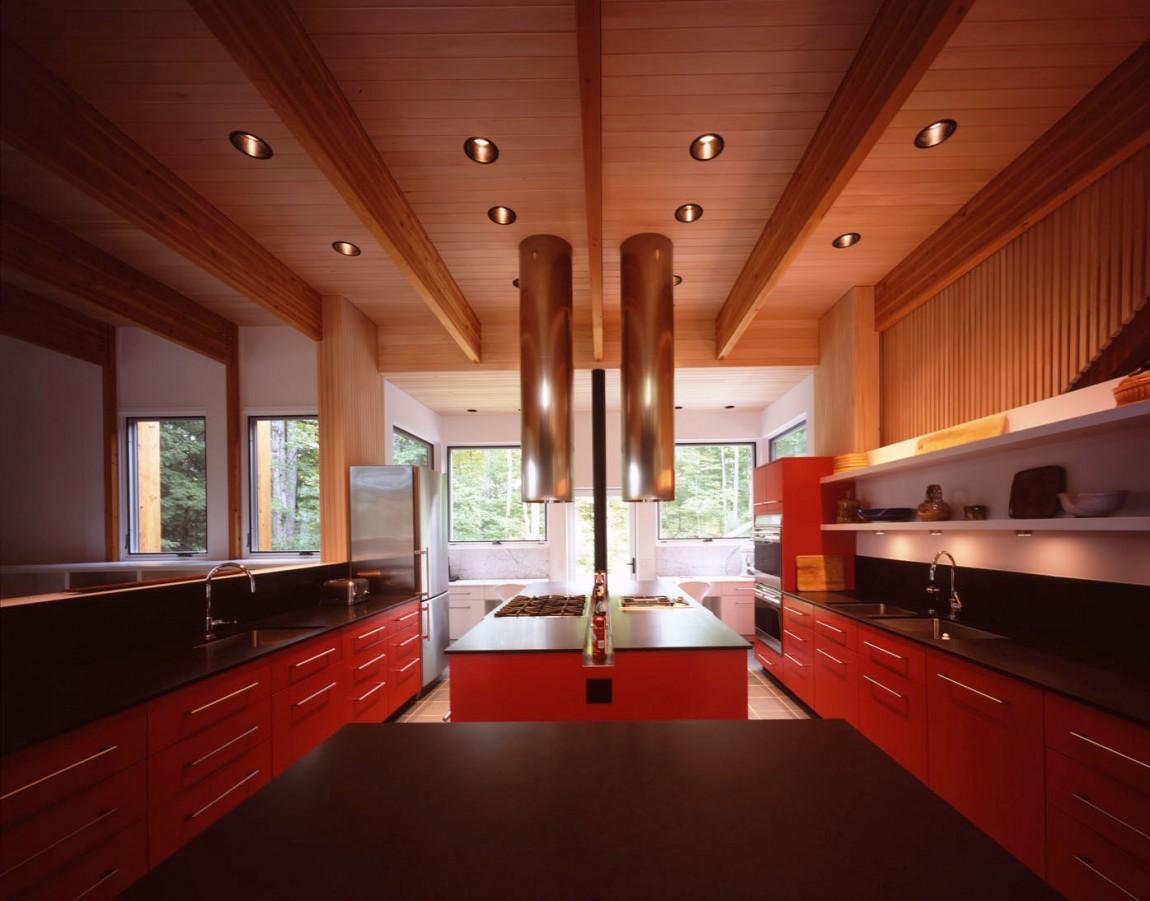 Роскошный интерьер кухни в загородном доме - Фото 46