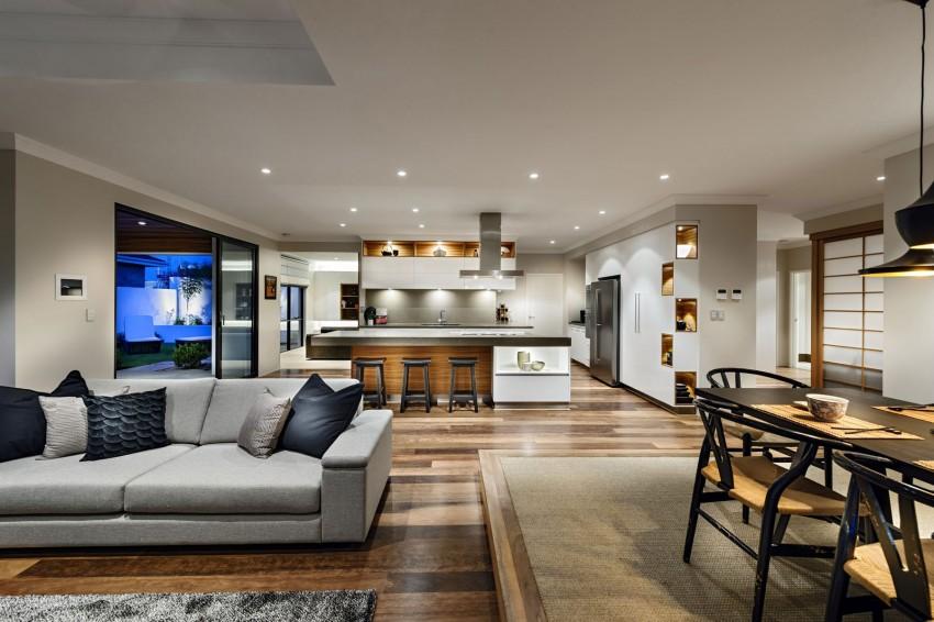 Роскошный интерьер кухни в загородном доме - Фото 49