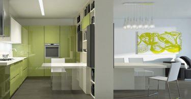 Итальянская кухонная мебель предоставляет новые возможности для интерьера